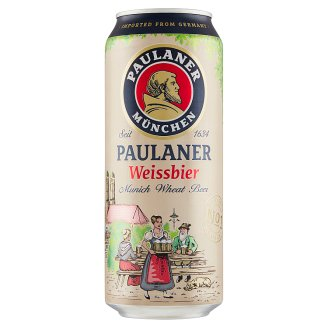 Paulaner Beer Light Wheat Yeast 500ml