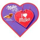 Milka I love milka bonbony z mléčné čokolády s mandlovou náplní a kousky lískových ořechů 137,5g