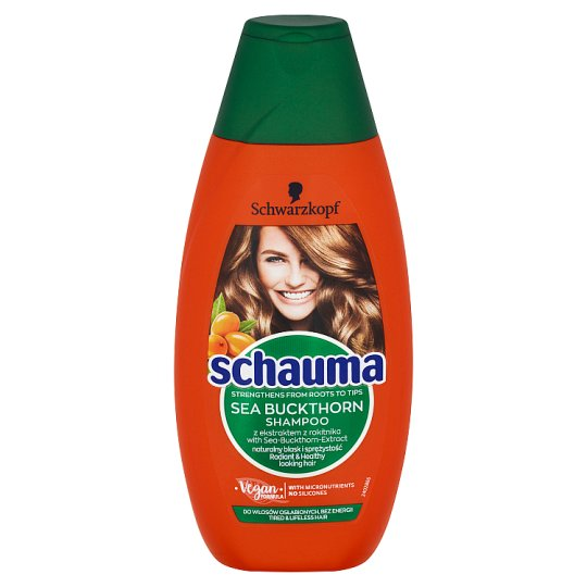 Schauma Vitalising Shampoo with Sea Buckthorn Extract 400ml