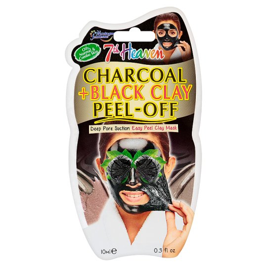 7th Heaven Charcoal + Black Clay Peel-Off 10ml