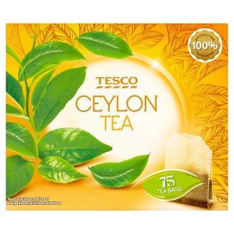 Tesco Černý čaj Ceylon 75 x 2g