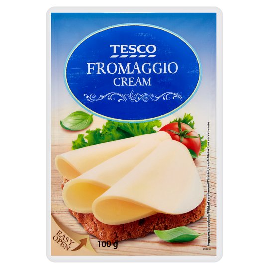 Tesco Smetanový sýr plátky 100g
