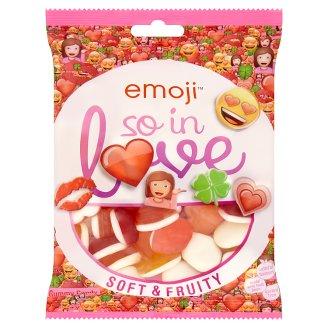 Emoji So in Love Soft & Fruity žvýkací pěnové bonbony 175g