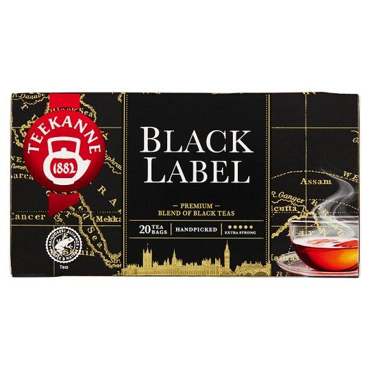 TEEKANNE Black Label, černý čaj, 20 sáčků, 40g