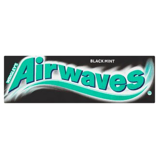 Wrigley's Airwaves Black Mint 10 ks 14g