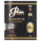 Pardubický Porter 19 originální tmavé pivo 5 x 0,33l + sklenice