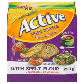 Bona Vita Active Mini Toasts 250g