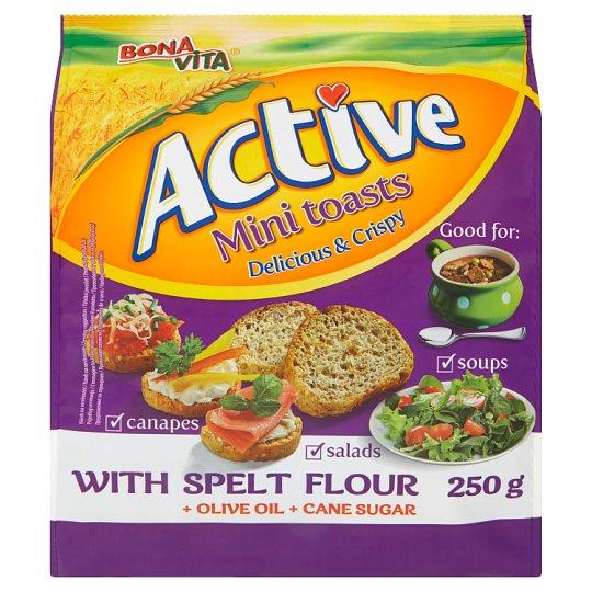 Bona Vita Active Mini Toasts 250g