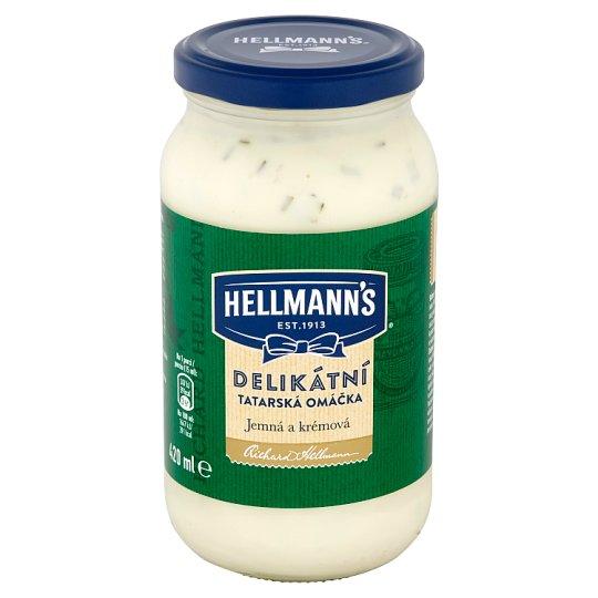 Hellmann's Delicious Tartar Sauce 420ml