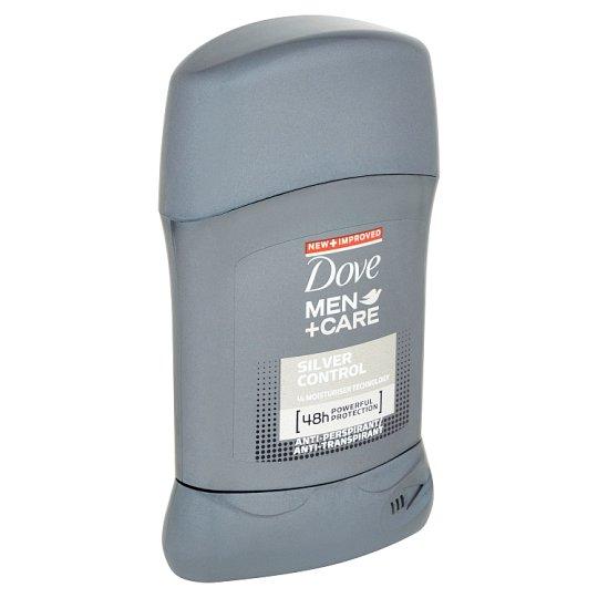 Dove Men+Care Silver control tuhý antiperspirant pro muže 50ml