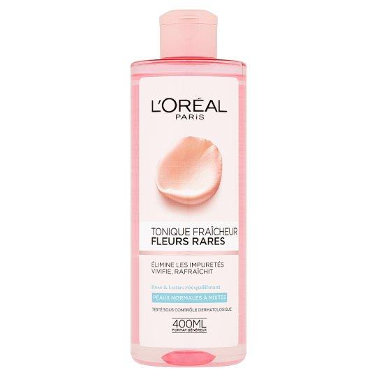 L'Oréal Paris Pleťová voda s výtažky vzácných květů pro normální až smíšenou pleť 400ml