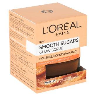 L'Oréal Paris Jemný rozjasňující cukrový scrub 50ml