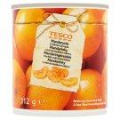 Tesco Mandarinky v mírně sladkém nálevu 312g