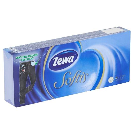 Zewa Softis Papírové kapesníčky 10 x 10 ks