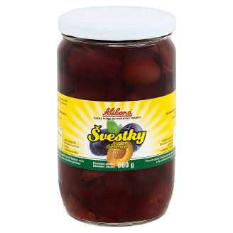Alibona Plums Separated 660g