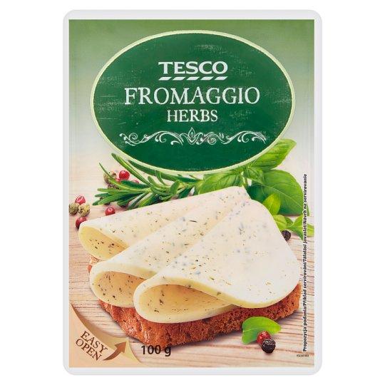 Tesco Fromaggio Herbs 100g