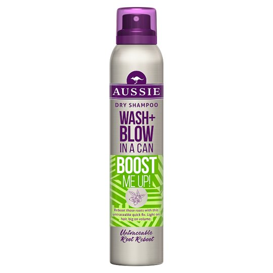 Aussie Wash+Blow Boost Me Up Suchý Šam. 180ml