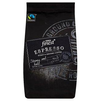 Tesco Finest Espresso pražená mletá káva 227g
