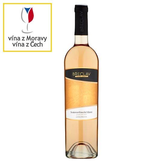 Rodinné Vinařství Břeclav Svatovavřinecké klaret víno s přívlastkem pozdní sběr polosuché 0,75l