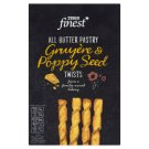 Tesco Finest All Butter Pastry Gruyère & Poppy Seed Twists 125g