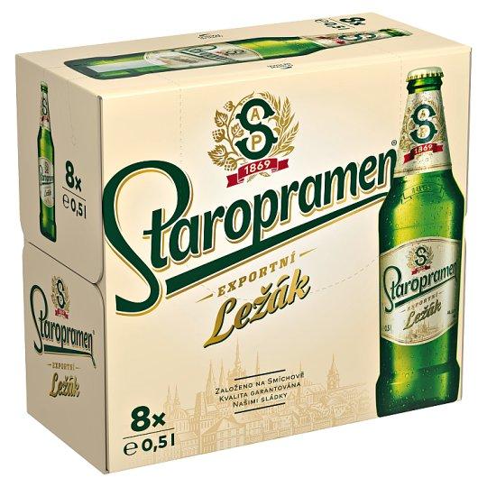 Staropramen Ležák pivo světlé 8 x 0,5l