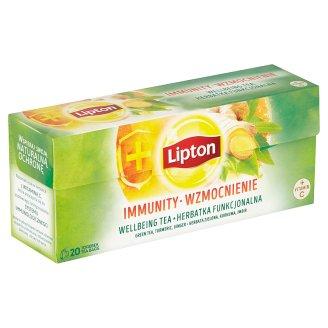 Lipton Zelený aromatizovaný čaj Immunity 20 sáčků