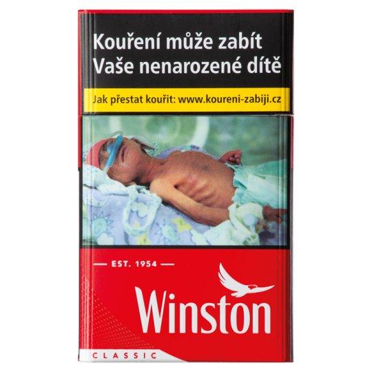 Winston Red cigarety s filtrem 20 ks