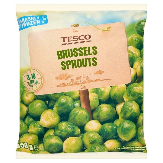 Tesco Brussels Sprout Deep Frozen 450g