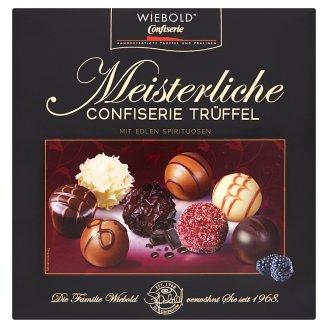 Wiebold Směs plněných bonbonů z bílé, hořké a mléčné čokolády s alkoholem 200g