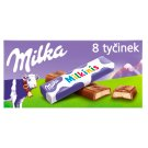 Milka Milkinis Milk Chocolate Bars with Milk Filling 8 pcs 87.5g
