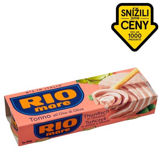 Rio Mare Tuna in Virgin Olive Oil 3 x 80g