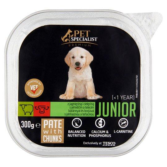 Tesco Pet Specialist Premium Junior Pate with Lamb and Veal 300g