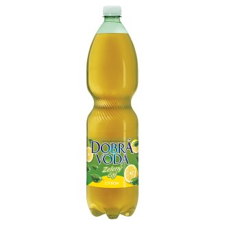 Dobrá voda Green Tea with Lemon Flavour 1.5L