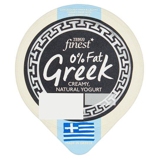 Tesco Finest Řecký jogurt 0 % tuku 150g