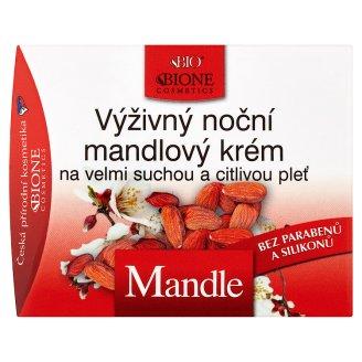 Bione Cosmetics Bio Mandle výživný noční mandlový krém na velmi suchou a citlivou pleť 51ml