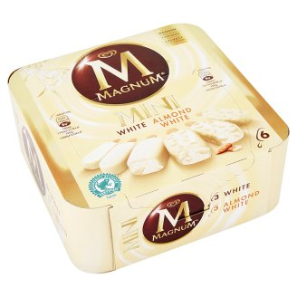 Magnum Mini Mix White & Almond White zmrzlina 6 x 60ml