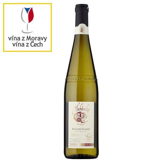 Habánské Sklepy Welschriesling Dry White Wine 0.75L