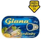 Giana Sardinky ve slunečnicovém oleji s citronem 125g