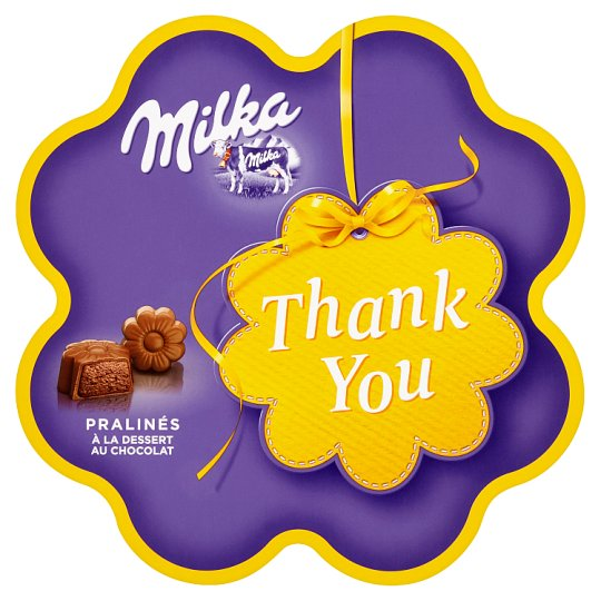 Milka Thank You bonboniéra 150g