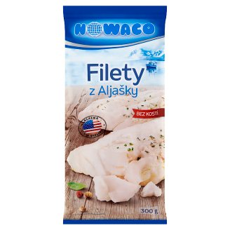 Nowaco Fillets from Alaska without Bones 300g