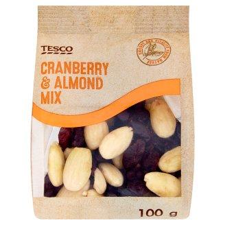 Tesco Cranberry & Almond Mix 100g