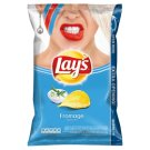 Lay's Fried Potato Chips with the Flavor of Fresh Cream Cheese and Chives 150g