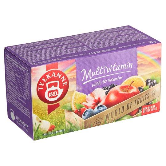 TEEKANNE Multivitamin, World of Fruits, 20 sáčků, 50g
