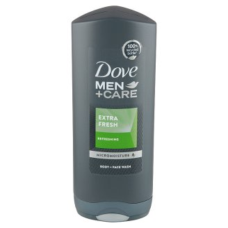 Dove Men+Care Extra Fresh Shower Gel for Men on the Face and Body 400ml