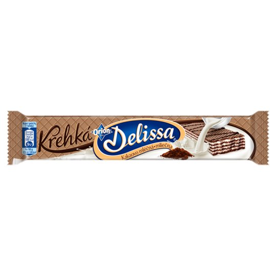 ORION Delissa Fragile Cocoa Wafer with Milk Filling 34g