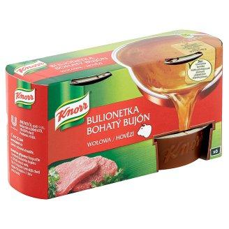 Knorr Bohatý Bujón Hovězí 6 x 28g