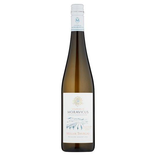 Vinitorum Moravicus Müller Thurgau moravské zemské víno suché 0,75l
