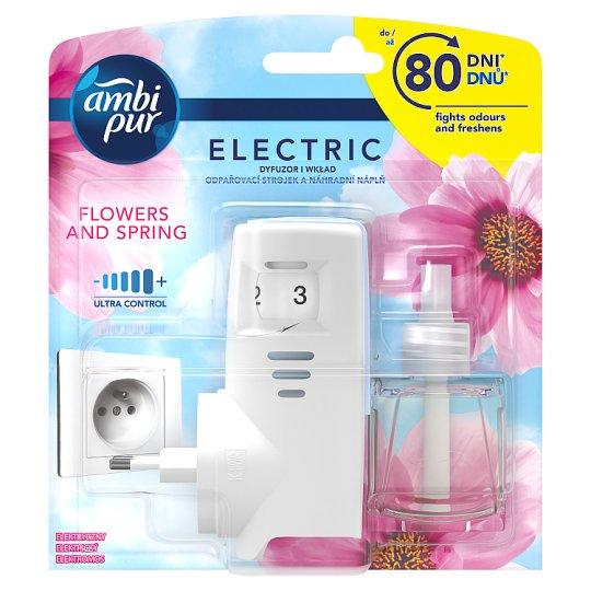Ambi Pur Plug-In Flowers & Spring Osvěžovač Vzduchu V Startovací Sadě 20ml