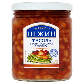 Nezhin White Beans in Tomato Sauce with Vegetables 450g