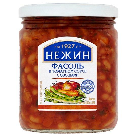 Nezhin White Beans in Tomato Sauce with Vegetables 450g